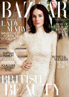 Michelle Dockery is Bazaar's October cover star | Harper's Bazaar