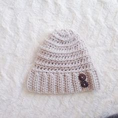 """It's a beanie type of day! ☕ ️The """"Andy"""" hat is a free pattern on the blog for those interested! Link in bio.  #crochet #rescuedpaw #fallstyle #andyhat #freepattern #fall"""