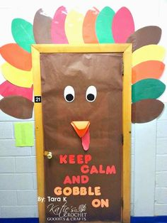 fall classroom door decorations