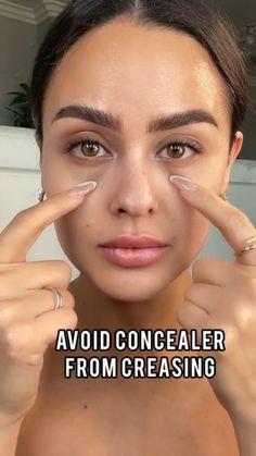 Contour Makeup, Flawless Makeup, Skin Makeup, Makeup Art, Face Makeup Tips, Makeup For Round Face, Face Contouring Makeup, Beauty Makeup Tips, Eyebrow Makeup
