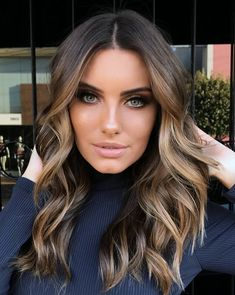 Pinterest: DEBORAHPRAHA ♥️ blonde ombre hair for brunettes #hair #color #haircolor #balayage