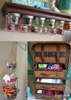 Craft Storage Ideas — inspire. organize. create.