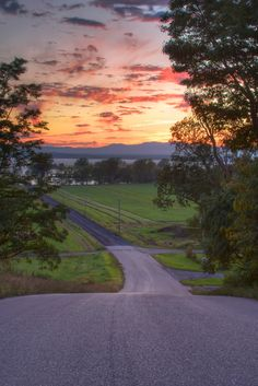 """When you find a a road named """"Sunset View,"""" you simply have to go take a look."""
