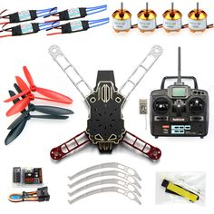 162.71$  Buy here - http://alilno.worldwells.pw/go.php?t=32444237064 - F11797-D JMT Assembled Full Kit HMF Totem Q330 Alien Across RC Drone Quadcopter with QQ Flight Control No Battery / Charger FS 162.71$