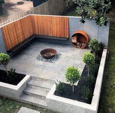 Small Garden Landscape, Small Space Gardening, Design Living Room, Design Bedroom, Design Jardin, Garden Architecture, Architecture Design, Modern Garden Design, Vivarium