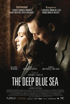 This looks intriguing...  The Deep Blue Sea: This remake of the original 1955 film, adapted from a Terence Rattigan play, stars Rachel Weisz as a wedded woman who falls hard for a younger man. Her determination and emotional obsession lead her into tragic conflict with the morals of the day.