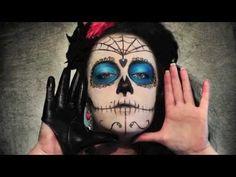 Bilderesultat for la muerte makeup