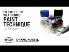 Oil Dot Filter Weathering Paint Technique by Karl Logan - YouTube