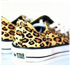 Leopard converse-I'm thinking Christmas present for me? Lol They are so cool!!!!