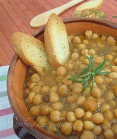 Zuppa di ceci - Rafano e cannella