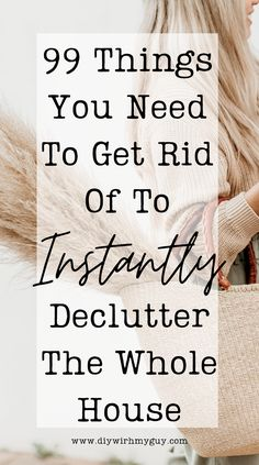 Instantly declutter your home by throwing away these things you don't need! #declutter #organize Clutter Organization, Home Organization Hacks, Organizing Tips, Declutter Bedroom, Declutter Your Home, Organized Mom, Getting Organized, Spring Cleaning List, Old Nail Polish