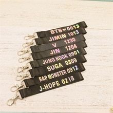 Youpop Kpop BTS Album Bangtan Boys Discoloration Name Key Chain WINGS K-pop Personalized Key Ring Pendant Keyring Laser Keychain Mochila Kpop, Mochila Do Bts, Bts Bracelet, Bts Bag, Bts Earrings, Bts Shirt, Bts Clothing, Bts Merch, Bts Wallpaper