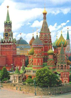 Saint Basil cathedral, Moscow, Russia