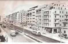 Old Athens / Kifissias Avenue 1970 Greece, Street View, City, Pictures, Photos, Travel, Memories, Google, Greece Country