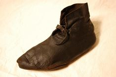 15th century female ankle boot  Medieval   Archaeology   Collections the Herbert Art Gallery & Museum