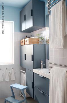 Schon Hoe Benut Je Een Kleine Badkamer Maximaal? Zet Die Muren Aan Het Werk En  Gebruik