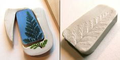 Tutorial -Making my 'ugly' molds for my Rustic Nature Polymer Clay Pendants - By UnaOdd-Lynn