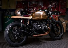 BMW R65 by JeriKan - featured on Return of the Cafe Racer