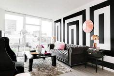 Kate Spade Inspired Decor Ideas for Living Room | Brit + Co