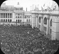 World's Columbian Exposition: exterior view, Chicago, United States, 1893. by Brooklyn Museum, via Flickr