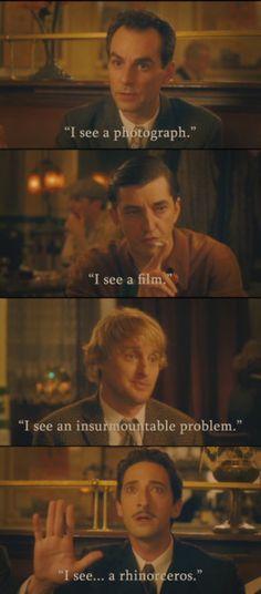 Scene from Woody Allen's Midnight in Paris