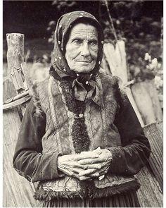 Karol Plicka - Stará Goralka z Pôľhory, 1925