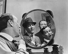 Robin and the 7 Hoods Bing Crosby, Frank Sinatra, Dean Martin 1964 Warner Brothers Martin Movie, Dean Martin, Barbara Rush, Old Hollywood Stars, Vintage Hollywood, Singing Career, Bing Crosby, Old Movie Stars, Mirror Image