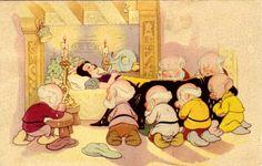 Walt Disney Snøhvit og de syv dvergene- brukt 1940.