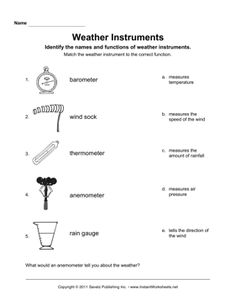 Grade 2 Science Weather Forecast Worksheet Free Sheet Lesson