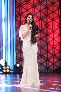 Sai Pallavi at 63rd Britannia Filmfare Awards 2016