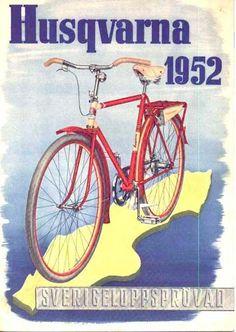 Husqvarna Cyklar ~ Anonym | #Bicycles #Husqvarna #Cyklar