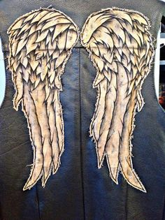 Wings Only - Replica Daryl Dixon Angel Wings