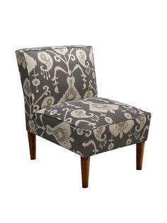 Skyline Armless Chair, Java Pewter #myhabit