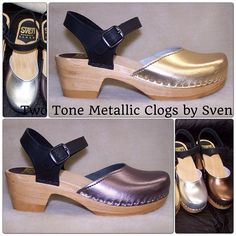 NEW!! Two Tone Metallic Clogs! https://www.svensclogs.com/catalogsearch/result/?q=two+tone