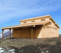 city+barn+structure   High West Barns builds the best Equestrian and Residential barns in ...