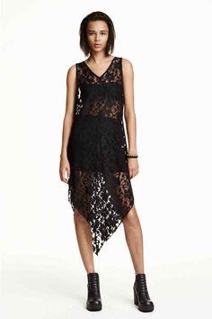Vestido de renda sem mangas | H&M