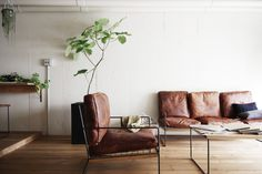 HACHI KAGUのレザーソファ Hotel Reception, Couch, Dining, Chair, Interior, Projects, Room, Furniture, Home Decor