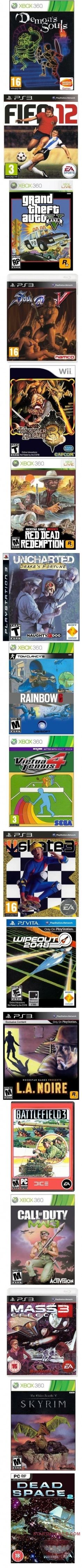 LMAO!!! Box Art from the 80s