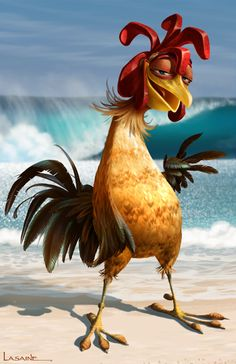 Chicken Joe from Surf's Up I can feel it in my nuggets. Lol