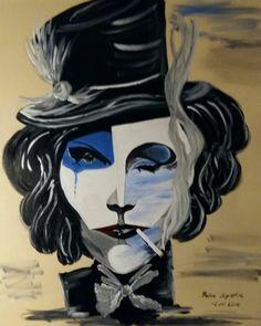 Marlene Dietrich... Marlene Dietrich, Surrealism, Anime, Fictional Characters, Art, Fantasy World, Pictures, Art Background, Kunst