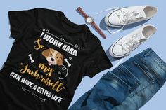 Jack Russell Dog Owner T-Shirt Jack Russell Dogs, Jack Russell Terrier, Shirt Price, Dog Owners, Shoulder Sleeve, Lovers, V Neck, Unisex, Sleeves