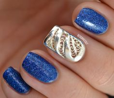 BOHEM Nail Jewelry - The REAL Party Nail - Nailed It | The Nail Art Blog