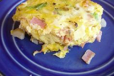 Breakfast Casserole - Weight Watchers.