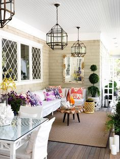 Chic porch