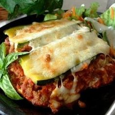 Searching for a new Lean & Green meal? Give this noodle-free Zucchini Lasagna a try! Click through for the  #recipe!
