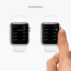 Stacks for Apple Watch on Behance