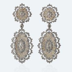 Buccellati - Earrings - Notte di Persia Pendant Earrings - High Jewelry