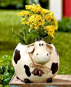Roly-Poly Cow Planter – Holt Bros. Mercantile