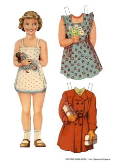 Swedish Girl - 1940's