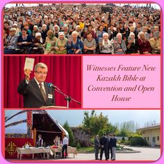 Witnesses Feature New Kazakh Bible at Convention and Open House    ♥•.¸¸.•♥   JW.org > Newsroom > News Releases > By Region > Asia > KAZAKHSTAN >   Witnesses Feature New Kazakh Bible at Convention and Open House  ༺♥༻ JW.org has the Bible and study aids to read, watch, listen and download in 700+ (sign included) languages. Also home bible studies. Plus now TV.JW.org and all at no charge.